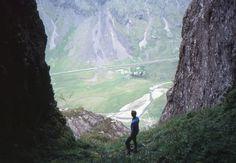 Ossians Cave near Glen Coe, Scotland