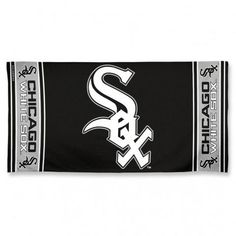 Chicago White Sox Beach Towel #ChicagoWhiteSox