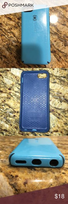 Speck iPhone 5c case iPhone 5c Speck phone case.  Blue in color.  Minor wear is shown in pics.  Still great condition. Speck Accessories Phone Cases