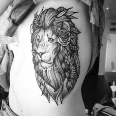 Hippy lion on the ribs from this morning too. Thanks Beth! Jaymsbutler@hotmail.com #blacktattooart #blackworkerssubmission #blackwork #blacktattoo #btattooing #tattoosnob #ribtattoo #tattooworkers #leedstattoo #leeds