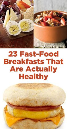 23 Fast-Food Breakfasts That Are Actually Healthy @michaelsusanno @emmammerrick @emmasusanno #23fast-foodbreakfaststhatareactuallyhealthy #breakfast