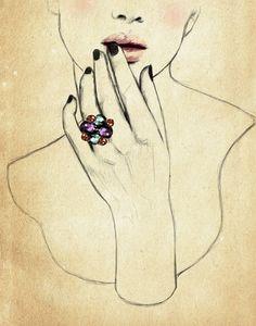 Sandra Suy #fashion #illustration