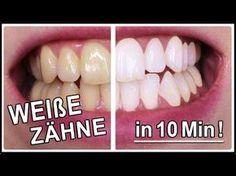 Weiße Zähne in 10 Minuten | Gelbe Zähne aufhellen mit diesen Hausmittel Weiße Zähne wünscht sich ja jeder und diesmal habe ich für Euch einen weiteren einfachen Trick wie ihr Euch ganz einfach zuhause die gelblichen Zähne aufhellen könnt. Der Trick ist wirklich super einfach und jeder kann ihn nachmachen. Probiert es doch einfach selber mal aus!