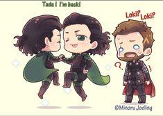 Loki... Thor....