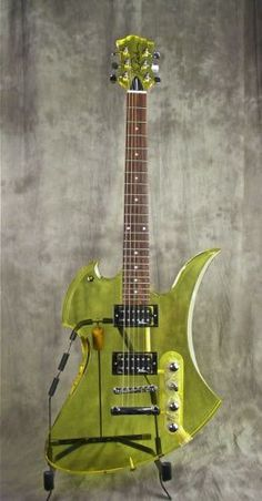 See thru B.C Rich Mockingbird