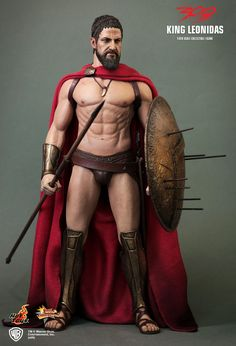 Hot Toys : 300 - Spartan Warrior 1/6th scale collectible figure. OMG OMG OMG, PLEASE I NEED THIS SO BAD!!! :-)