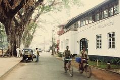 The Old Harbour Hotel in Fort Cochin, Kerala. Fascinating town where hindu, muslim, jewish, christain and communists all live side-by-side.