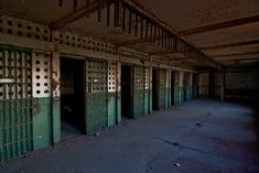 Cells. Abandoned York County Prison, York, PA