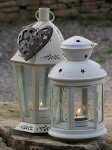 Love candles, lanterns & hearts!