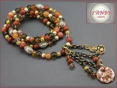 Ketten lang - Kette Buddah Nr. Da 18 - ein Designerstück von TANBI-accessories bei DaWanda