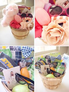 Naughty secretary club i love to create baby easter basket his hers baby easter baskets negle Image collections