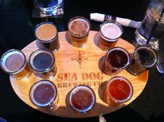 Sea Dog Brewing Company in South Portland, ME