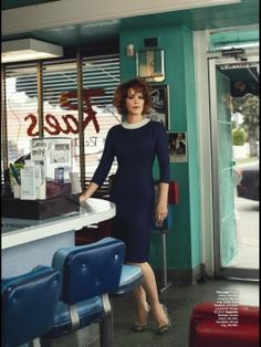Molly Ringwald in 'Don't Forget About Me' by Patrick Fraser for Vogue Australia, June 2013.