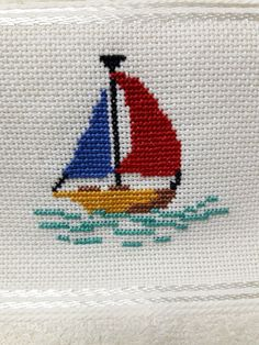 Cross Stitch Sea, Cross Stitch House, Small Cross Stitch, Cross Stitch Cards, Cross Stitch Flowers, Cross Stitch Kits, Cross Stitch Embroidery, Embroidery Patterns, Hand Embroidery