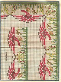 Gallery.ru / Фото #99 - Greek embroidery - GWD Art Nouveau Design, Stitch 2, Cross Stitch Patterns, Needlework, Diy And Crafts, Alphabet, Greek, Tapestry, Embroidery