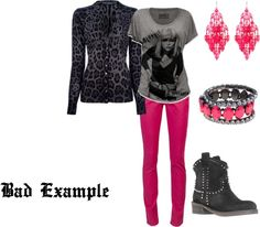 """Bad Example"" by westernglamour on Polyvore"