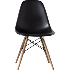 Langley Street Neville Side Chairs Upholstery: Black