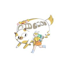 hayao miyazaki ❤ liked on Polyvore featuring adventure time, anime and filler