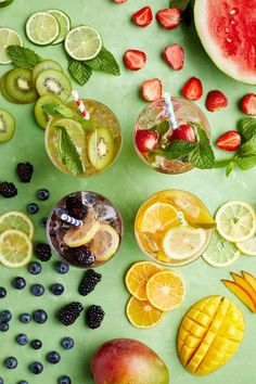It's summer, which means you have a ton of outdoor entertaining ahead of you. But not to worry — these white wine spritzer recipes will make summer entertaining a total breeze. Wine Spritzer Recipe, White Wine Spritzer, Hello Fresh Recipes, Cocktail Recipes, Drink Recipes, Beverages, Drinks, Hello Summer, Summer Cocktails