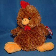 Ty Beanie Baby Clucky - MWMT (Chicken BBOM 2006) #TY #BeanieBaby