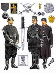 MVSN - I moschettieri del Duce erano un reparto scelto della Milizia Volontaria per la Sicurezza Nazionale fondato da Mussolini l'11 febbraio 1923. Compito dei Moschettieri era di fungere da littori dell'insegna di comando del Duce, disimpegnare servizio di guardia a Palazzo Venezia, presenziare alle parate ufficiali del regime e fornire il servizio di sicurezza interno durante le riunioni del Gran Consiglio del Fascismo. Il corpo venne sciolto nel 1940, allo scoppio della guerra.