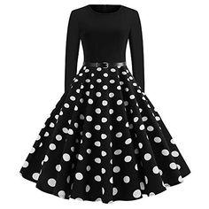 Worsworthy Kleider Damen Weihnachten Rockabilly festlich Hepburn Kleider  Elegant Party Hochzeit Spitzen Brautjungfern Ballkleid Elegante Vintage  Abendkleid ... 5b347a9d7c
