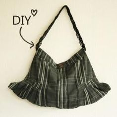 DIY - Skirt Bag