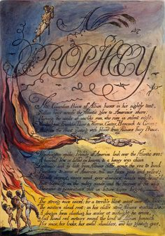 William Blake | America: A Prophecy | 1793 | The Morgan Library & Museum