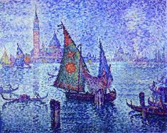 The Green Sail PAUL SIGNAC  Style: Post-Impressionism Lived: November 11, 1863 - August 15, 1935 (19th - 20th century) Nationality: France