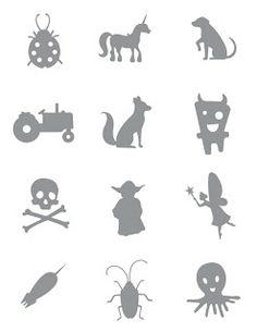Scherenschnitte: Template Tuesday - Papercuts for Kids