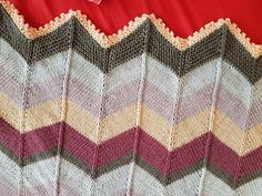 August baby blanket knitting project by Jenifer F | LoveKnitting