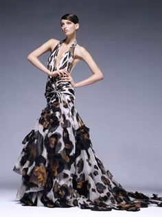 Atelier Versace Fall Coming Soon to a Red Carpet Near You Photo 3 Couture Mode, Couture Fashion, Runway Fashion, Fashion Glamour, Atelier Versace, Gianni Versace, Next Fashion, High Fashion, 3d Fashion
