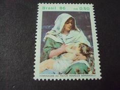 Brazil Breastfeeding Stamp 1986