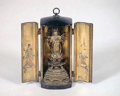厨子入千手観音立像  <br/>Thousand-armed Kannon in Portable Shrine