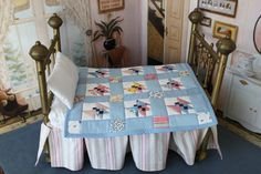Patchwork butterfly quilt pattern