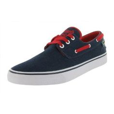 Click on the image for more details! - LACOSTE Barbuda Cool Cats Boat Sneakers Mens Shoes (Apparel)
