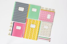 patterned notebooks &anne gift stationery collection 2018