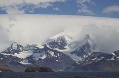 South Georgia - South Georgia. Landscape near Grytviken