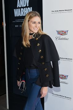 Olivia Palermo attends the 'Letters To Andy Warhol' Exhibition Opening at Cadillac House on November 14 2016 in New York City