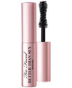 Who doesn't want to bring their favorite mascara everywhere they go? Too Faced Better Than Sex mini mascara may be travel-sized but it still brings your lashes to unbelievable lengths.