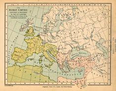 map of roman empire - Google Search