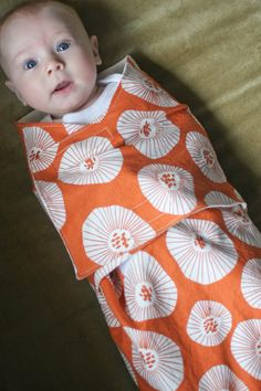 Baby swaddling blanket (link at the end of post to PDF of pattern)