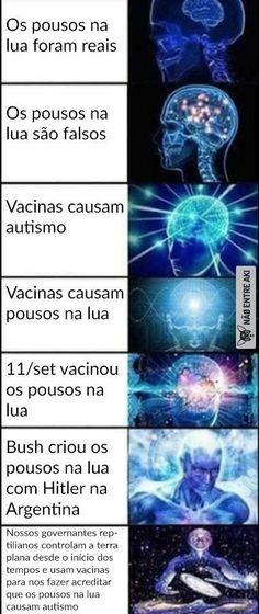 vacinas causam pousos na lua