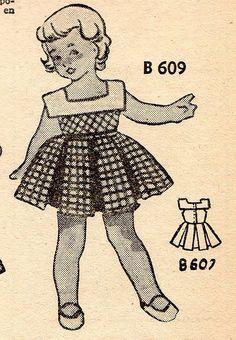 The 1950s-1952 Bonnes soirées-summer fashion by april-mo, via Flickr