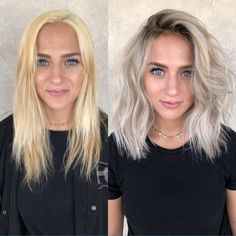 cool ash blonde balayage shades silver shoulder length straight beige sandy icy - April 20 2019 at Cool Ash Blonde, Black To Blonde Hair, Icy Blonde, Blonde Hair With Dark Roots, Ash Blonde Balayage Short, Toning Blonde Hair, Medium Length Hair Blonde, Cool Toned Blonde Hair, Shoulder Length Hair Blonde