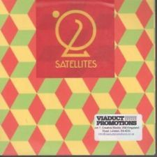 SATELLITES (INDIE) 02 CD European Hoop 2013 11 Track Promo Still Sealed With