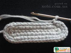HÁČKOVÁNÍ - Háčkované botičky / capáčky / papučky Chrochet, Friendship Bracelets, Knitting, Creative, Camilla, 1, Children's Poncho, Fuzzy Slippers, Crochet Baby Shoes