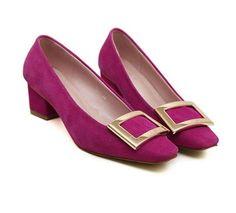 Square Soft Style High Heel Shoes LAVELIQ