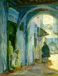 Henry Ossawa Tanner: art thrived in Europe. Mentored Fuller in Paris (post-graduation, 1899).