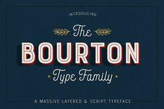 Bourton • FINAL SALE WEEK • 75% Off by Kimmy Design on @creativemarket